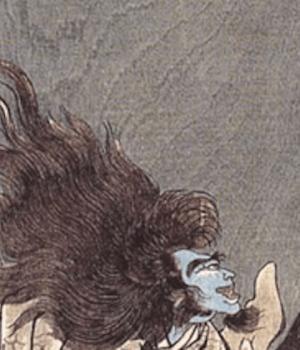 Il demone dai capelli bianchi