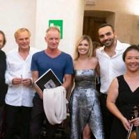 """Sting e Zucchero applaudono """"Pietrasanta in Concerto"""""""