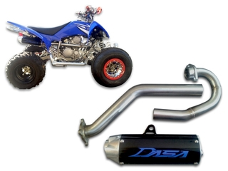 yamaha raptor 250 exhaust system