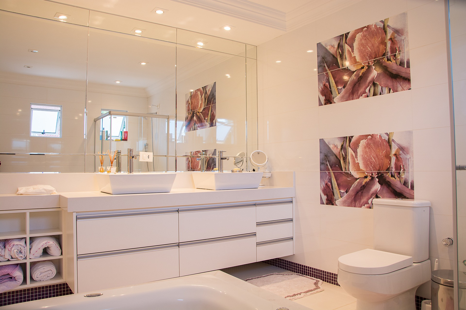 Das Bad bin ich bathroom-1622403
