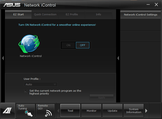 network icontrol asus