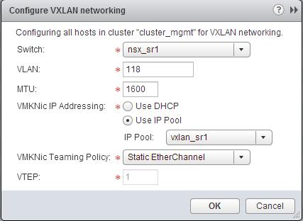 Working with VMware NSX – The setup – Das Blinken Lichten