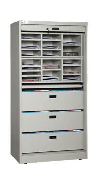 72 in. Secure Storage Cabinet