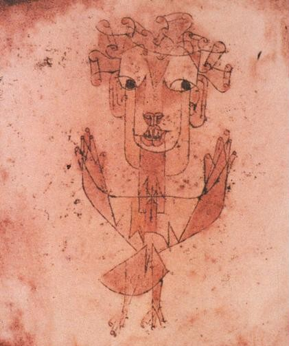 Ángelus Novus. Paul Klee (1897-1940)
