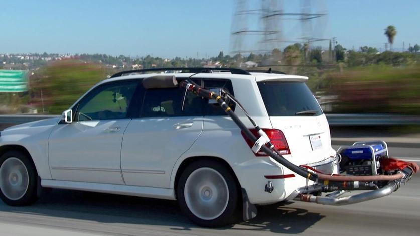 Abgasmessung im Alltagsbetrieb. Kalifornien stoppt Abgastrickser und Betrüger.