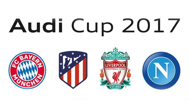 Bildresultat för audi cup 2017 munchen