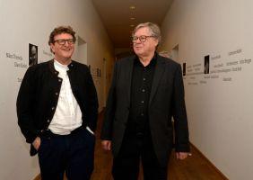 Anton G. Leitner und Fitzgerald Kusz. Foto: Volker Derlath