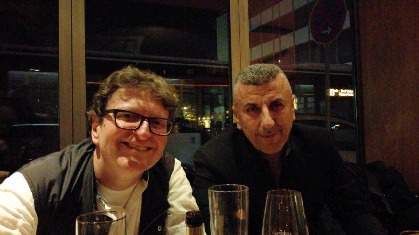 Anton G. Leitner und Razgar Karim