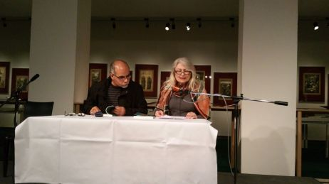 M. Alaaedin Abdul Moula und Gerda Jäger