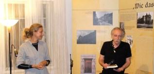 Piatock-Lesung im Prager Literaturhaus mit Alberto Szpunberg und Juana Burghardt. Foto: Delta-Archiv, Stuttgart