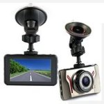 "Accfly™ Portable 3.0""LTPS LCD Full HD 1080P 120-Degree Wide Angle Car Camera DVR Driving Video Recorder Vehicle"
