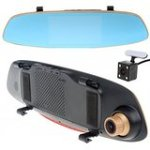 Boblov CT556 2CH Dual Lens HD 1080P Car Dash Cam Video Recording Camera Rear View Mirror DVR Parking Mode Automatically...