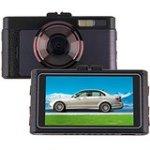 Droys(TM) 3.0 inch Car DVR Camera GT100 Dash cam 1080p Full HD IR Video Registrator Recorder with Mic
