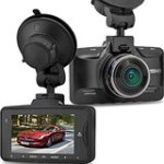 Eaglerich Ambarella A7LA50 GS90A Car DVR Recorder with GPS 2304*1296P Dash Cam Full HD 2.7 inch Screen 170 Degree.