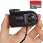Mini Full HD 1080P Car DVR G-Sensor Video Recorder Vehicle Dash Camera Camcorder with 8GB High Speed