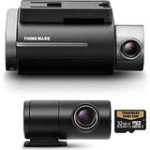 Thinkware 32GB 2CH F750 Full HD Front and Rear Car Camera with Wi-Fi, GPS, A7 Ambarella Processor, ADAS and Red...