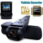 TOGUARD Capacitor Edition Full 1080P HD Video Black Box Car Dashboard Camera - No Internal Battery Novatek NT96650