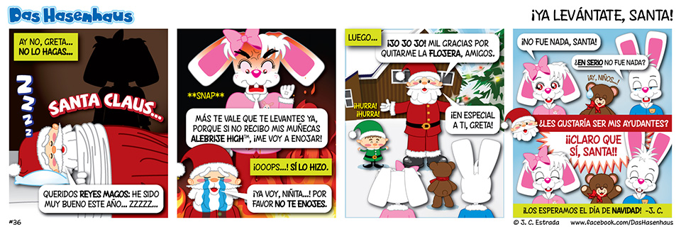 ¡Ya Levántate, Santa!