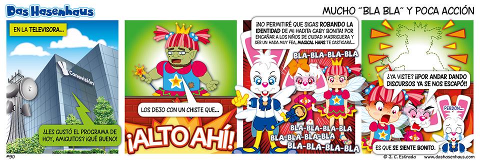 """Mucho """"Bla Bla"""" y Poca Acción"""