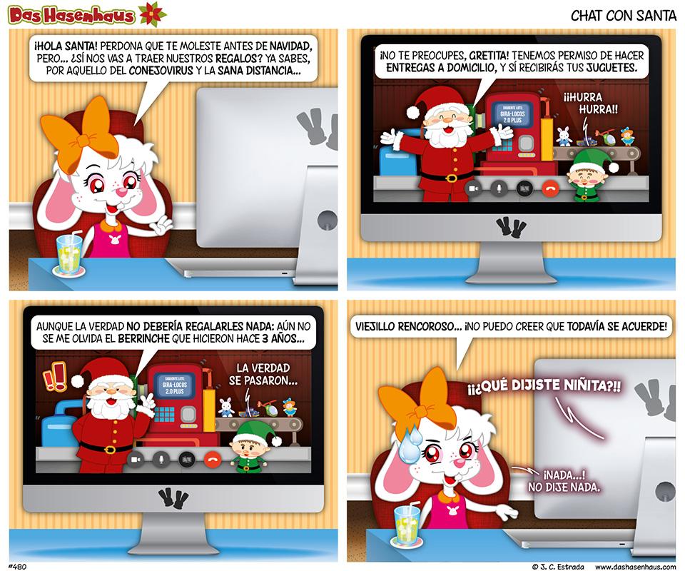 Chat Con Santa