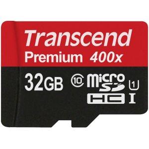 Transcend 32GB Micro SD HC