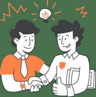 sales team using Dashly
