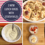 3 New Yogurt Ideas for Lunchboxes