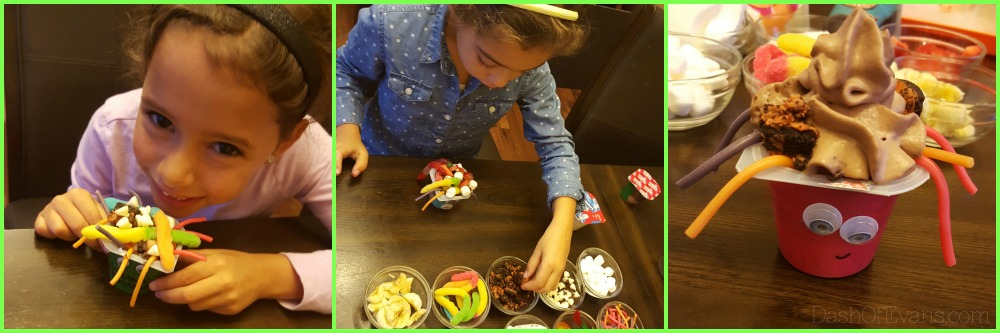 Budget friendly craft: Snack Pack monsters with Halloween mix-ins!
