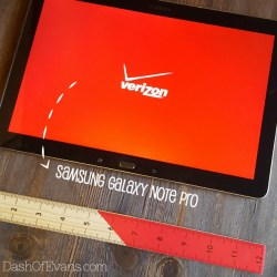 Review: Samsung Galaxy Note PRO Tablet #...
