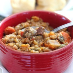 Beef & Barley Stew with Guinness