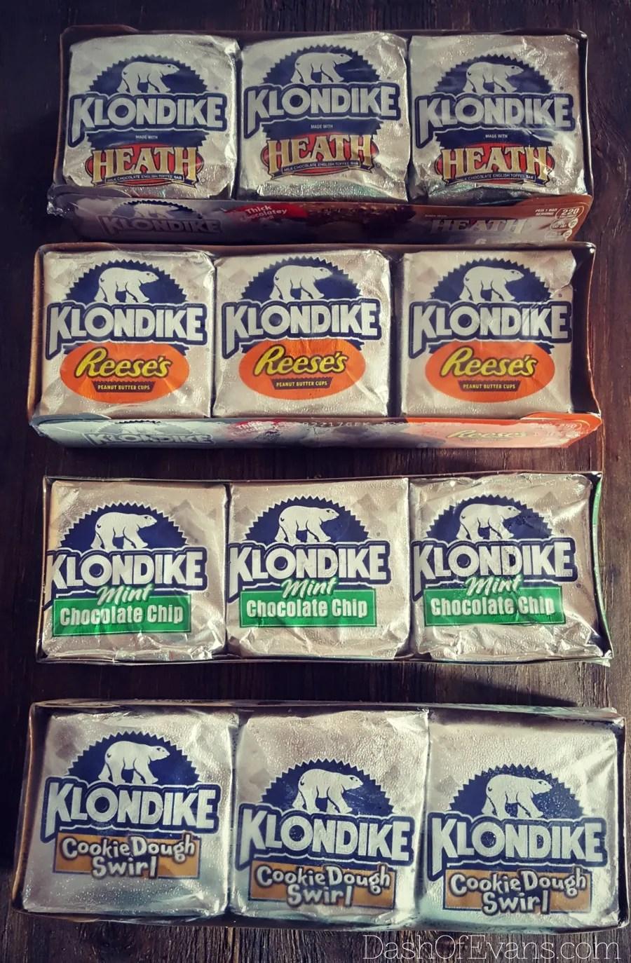 Klondike® Bars come in new 6-packs and 12 varieties! @DashOfEvans