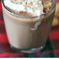 Slow-Cooker Hazelnut Hot Chocolate | www.dashofevans.com