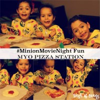 Extra special surprise for our family night: the Minions movie! #MinionsMovieNIght (ad)
