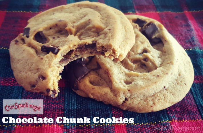 Otis Spunkmeyer Chocolate Chunk Cookies--hitting grocery stores in January! #NationalCookeiDay #NoFunkyStuff