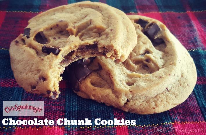 Otis Spunkmeyer Chocolate Chunk Cookies--hitting grocery stores in January! #NationalCookeiDay #NoFunkyStuff