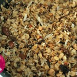 The EASIEST granola ever...it's made in a skillet! 5-Minute Honey Roasted Almond Granola • @DashOfEvans