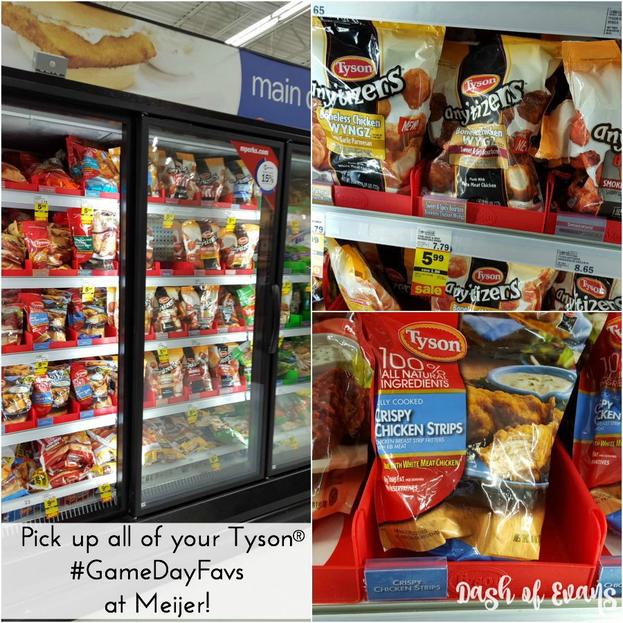 Head to Meijer for all of your favorite Tyson® snacks! #GameDayFavs (ad) #SoFab