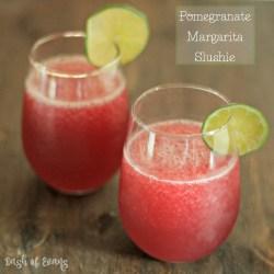 Pomegranate Margarita Slushie