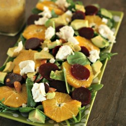 Winter Citrus Salad with Beets & Go...