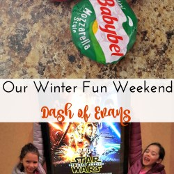 Our Winter Fun Weekend with Babybel!