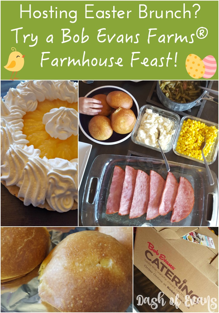 In charge of #Easter brunch? Don't stress. Order a Farmhouse Feast from @BobEvansFarms.