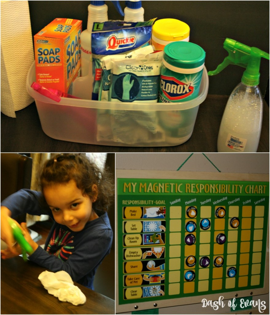 fter a long winter, it's time for #SpringClean16! Head to #Walmart for all of your cleaning and organization essentials. Find out tips to get your kiddos involved from @DashOfEvans!