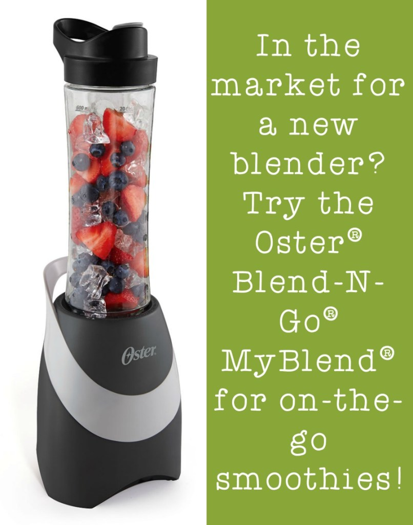 Need a new blender for smoothies? Check out the Oster® Blend-N-Go® MyBlend® at Walmart! (ad) #mysmoothie