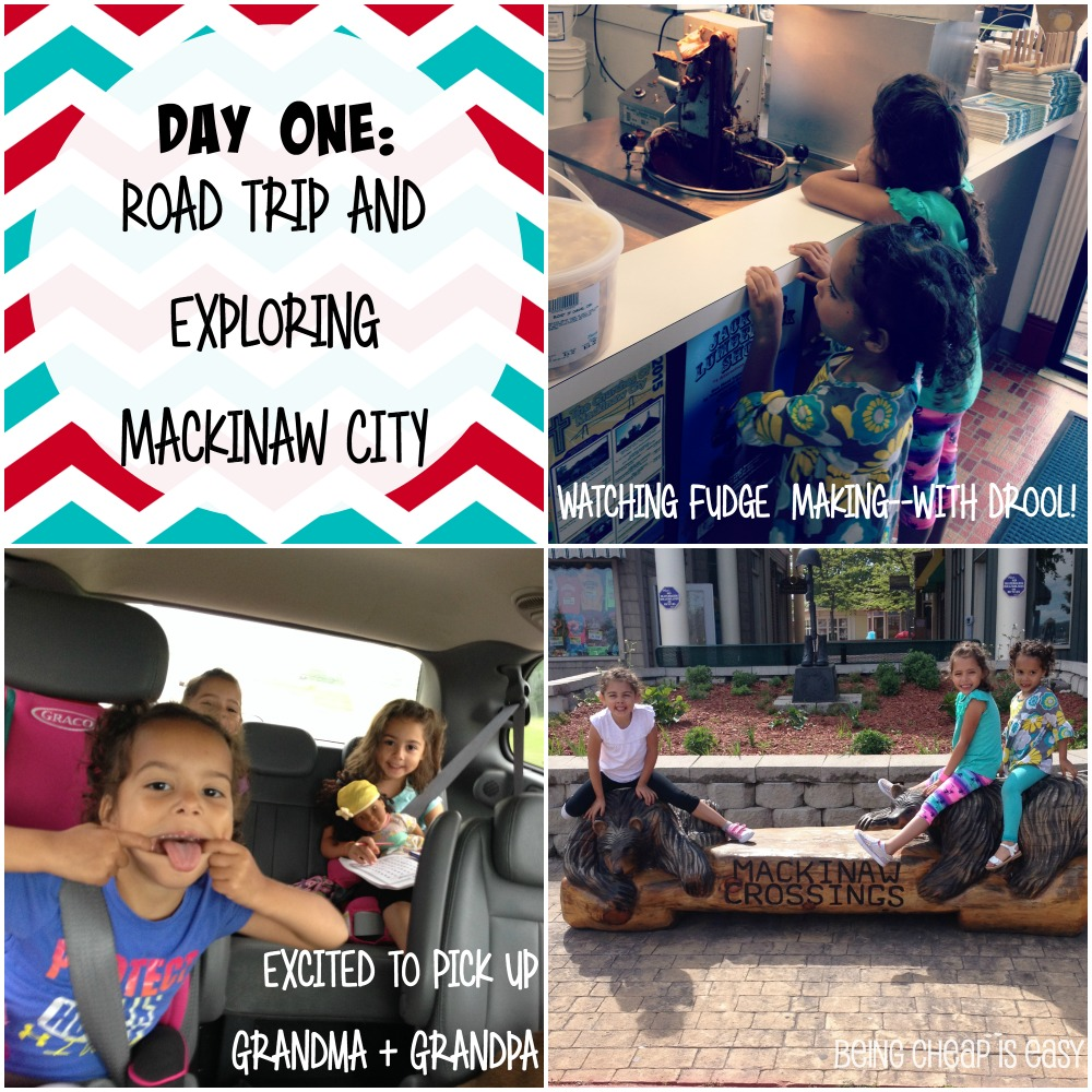 Family Road Trip to Mackinaw City and Michigan's UP! #PureMichigan