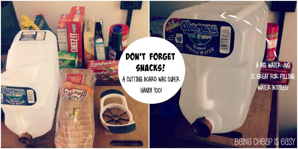 Hotel friendly snacks! via @DashOfEvans