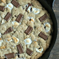 S'mores Skillet Cookies w/ Coconut...