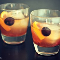 This is going to be your new favorite drink: Michigan Summer Mixtape. Delicious Rémy Martin VSOP, homemade Michigan cherry simple syrup and a spash of soda water. Sip and enjoy! via @DashOfEvans