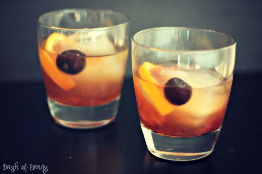 This is going to be your new favorite drink: Michigan Summer Mixtape. Delicious Rémy Martin VSOP, homemade Michigan cherry simple syrup and a splash of soda water. Sip and enjoy! via @DashOfEvans #PassionDefinedRemyRefined #CollectiveBias