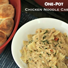 One-Pot Chicken Noodle Casserole