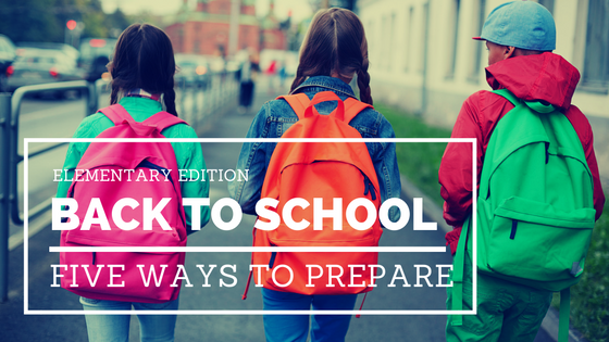 From First Aid Kits to schedules, I have 5 AMAZING back-to-school tips for your elementary aged kiddos. You'll thank me later! | @DashOfEvans (ad) #PositivelyPrepared #BacktoSchool #CollectiveBias